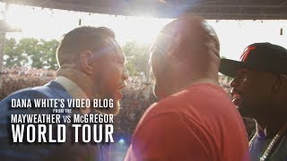 Dana White's Video Blog | MAY/MAC WORLD TOUR | Ep. 4
