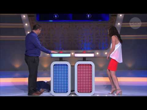 Grant drops dead at Jessica's answer - Family Feud Australia