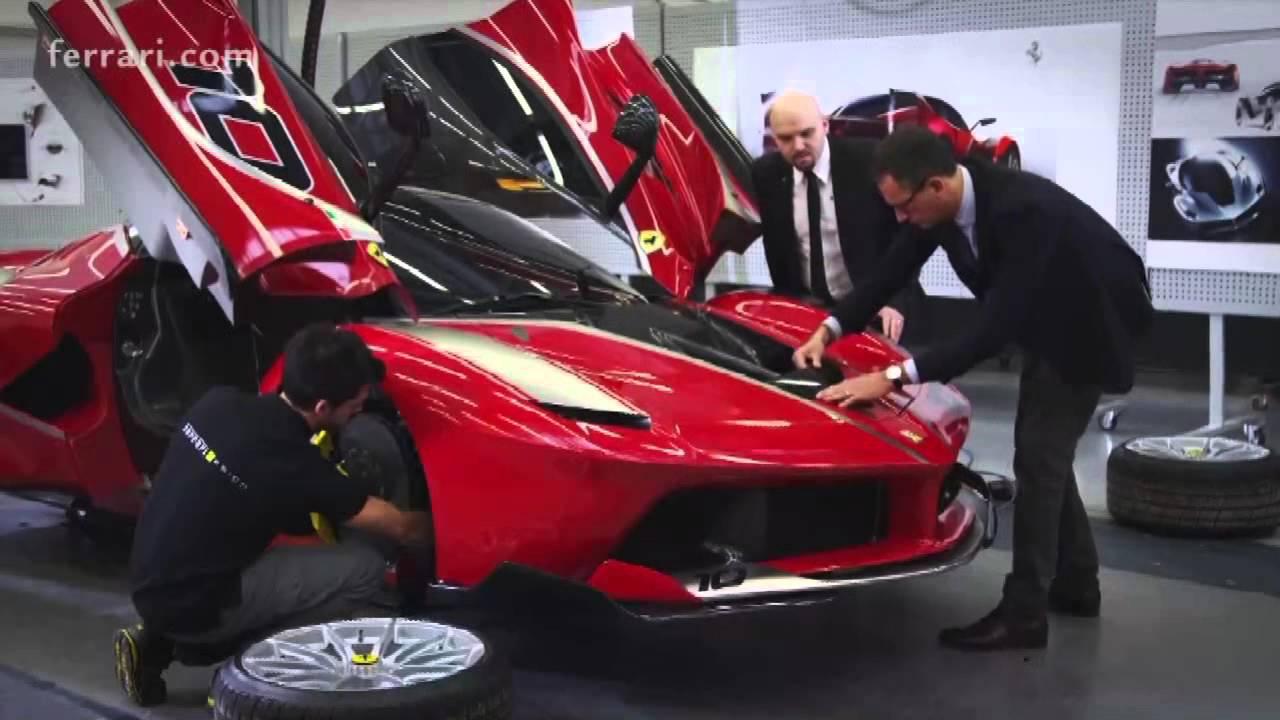 Ferrari Car Ferrari Fxx K The Making Of God Youtube