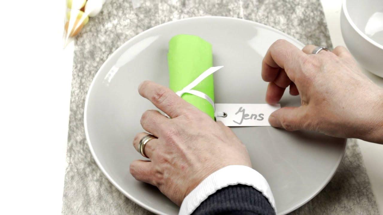 tips f r festliche tischdekoration tischkarte und. Black Bedroom Furniture Sets. Home Design Ideas