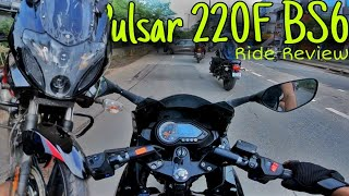 Pulsar 220F BS6 Ride Review   Is it still worth buying??   VLOG 61