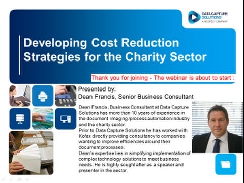 Developing Cost Reduction Strategies for the Charity Sector 20150611