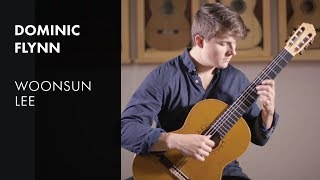 Bach Courante - Dominic Flynn plays WoonSun Lee
