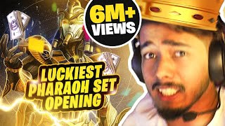 Luckiest Pharaoh Set Opening   Maxed Out in 30,000 UC : sc0ut