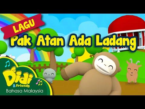 Lagu Kanak Kanak | Pak Atan Ada Ladang | Didi & Friends