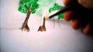 How to draw a forest...