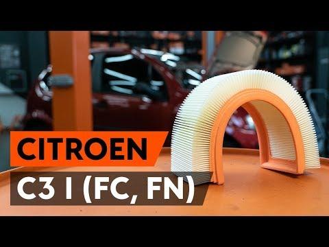 Как заменить воздушный фильтр двигателя на CITROEN C3 1 (FC, FN) [ВИДЕОУРОК AUTODOC]