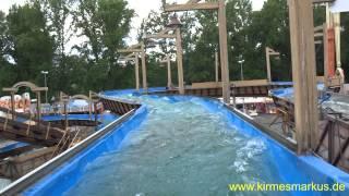 Wildwasser - Meyer/Steiger Onride Video Schützenfest Hannover 2014 by kirmesmarkus