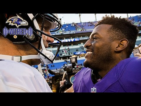 Ben Roethlisberger Reacts To Mike Wallace's 95-Yard Touchdown | Wired | Baltimore Ravens