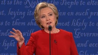 Hillary Clinton: Donald Trump says crazy things