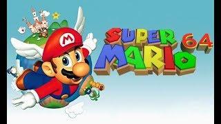 Super Mario 64 - 120 Estrellas Maratón con Logan