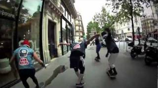 MANWOLFS IN PARIS/GO SKATEBOARDING DAY 2011