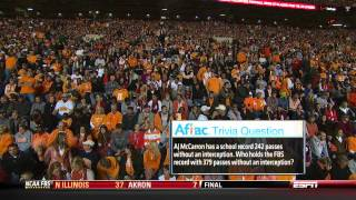 """""""The Third Saturday in October"""" 2012 #1 Alabama vs Tennessee"""