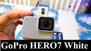 GoPro HERO7 White Unboxing & Video Test