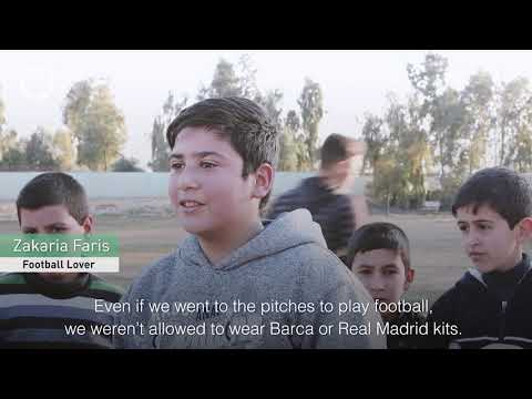 Football returns to Mosul