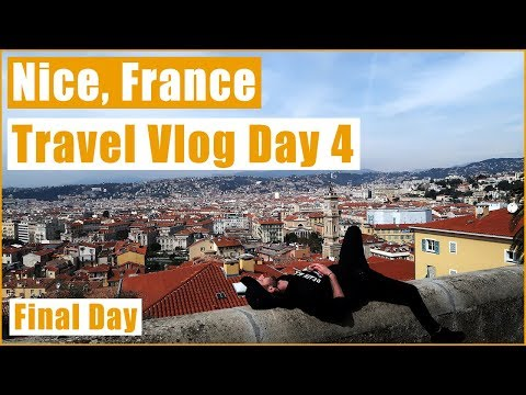 NICE, FRANCE/ THE HIDDEN ALLEYS OF NICE / TRAVEL VLOG DAY 4 (FINAL DAY)