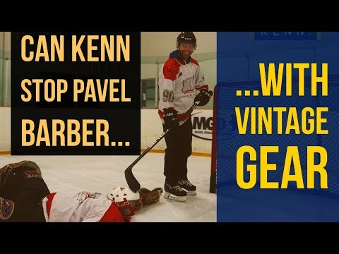 Pavel Barber VS Vintage Goalie | Celebrity Guest