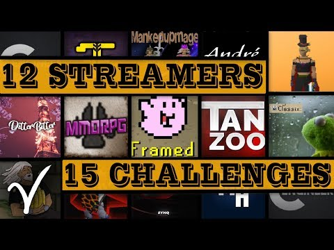 12 STREAMERS - 15 CHALLENGES [OSRS]