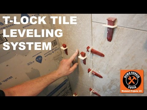 T-Lock Tile Leveling System (Quick Tips) -- By Home Repair Tutor