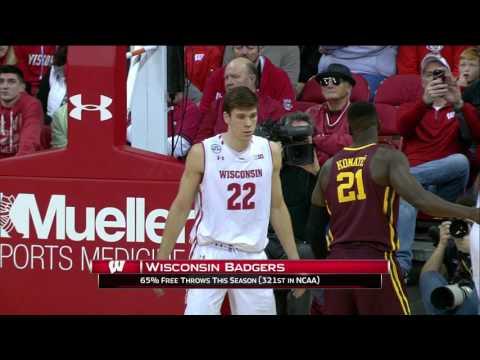 Minnesota at Wisconsin Basketball Mar 5, 2017 SENIOR NIGHT