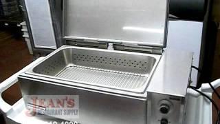 Used Deluxe Food Warmer, Roundup DFWF260C, Jean's Restaurant Supply U-105