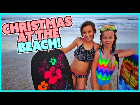 🎄SMELLY BELLY TV CHRISTMAS SPECIAL!!!! WE GO TO THE BEACH! | FAMILY VLOG