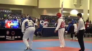 Andre A Jump Back Kick