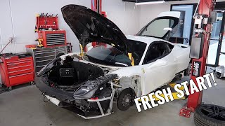Rebuilding my Wrecked Ferrari - FINAL PART