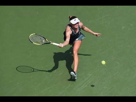 2017 Kremlin Cup Second Round | Kristina Mladenovic vs. Aliaksandra Sasnovich | WTA Highlights