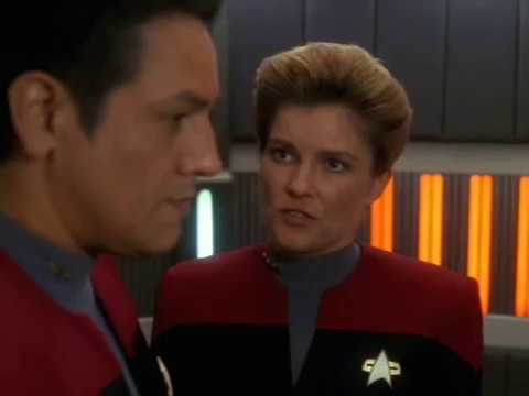 Commander Chakotay Proposal An Alliance With the Kazon