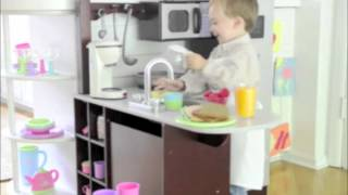 Kidkraft Junior Chef's Play Kitchen With Stools Exclusively At One Step Ahead