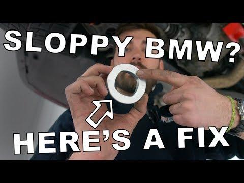 Sloppy BMW? // 034 Motorsport Subframe Inserts (Install DIY)
