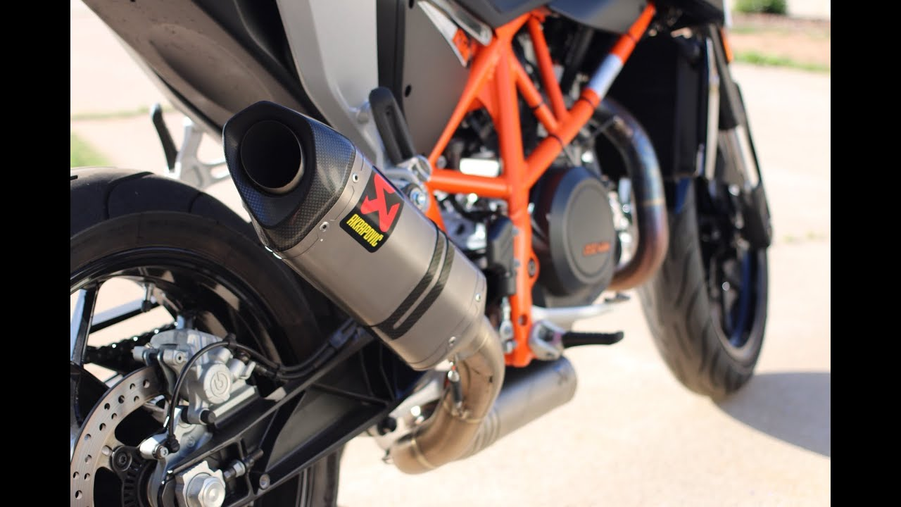 ktm 690 duke akrapovic full system exhaust gopro. Black Bedroom Furniture Sets. Home Design Ideas