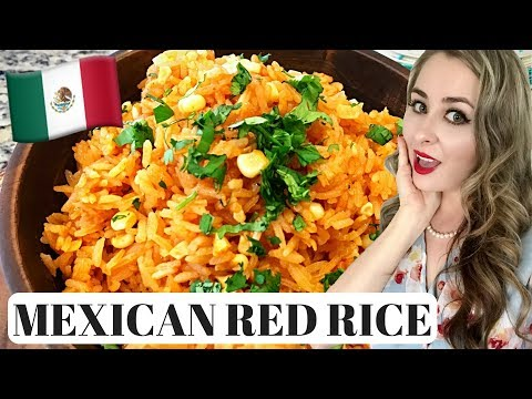 Making Mexican Rice Arroz Rojo 10 Easy Steps