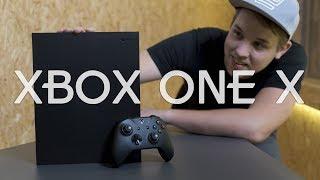 Unboxing XBOX ONE X - Nejvýkonnější konzole