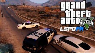 GTA 5 Sheriff Patrol - LSPDFR 0.2 (GTA V Police Mod) #7