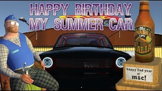 My Summer Car - Happy Birthday & Haunted Mansion !