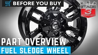 Fuel Sledge D595 Wheels Product Overview