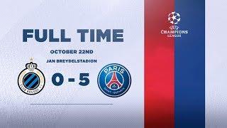 CLUB BRUGGE 0-5 PARIS SAINT-GERMAIN