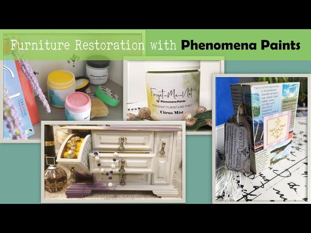 Paint Color Samples for Phenomena Paints - Episode #1  #chalkstylepaint #furnitureflips