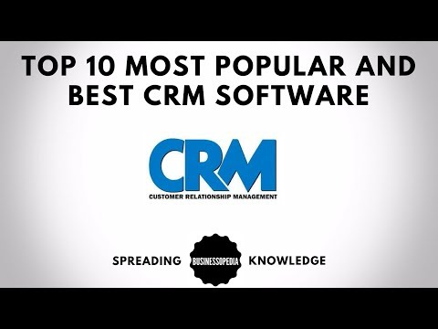 Top 10 Most Popular and Best CRM Software Mp3