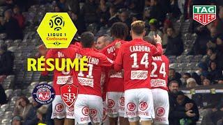 Toulouse FC - Stade Brestois 29 ( 2-5 ) - Résumé - (TFC - BREST) / 2019-20