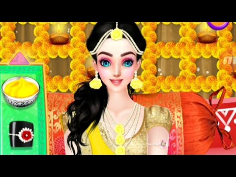 Indian Designer Sarees Fashion Salon For Wedding Play Fun Best Game For Kids Hd Youtube