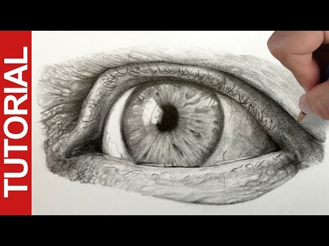 How to Draw a Realistic Eye - Graphite Pencil Tutorial