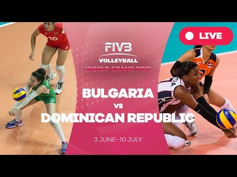 Bulgaria v Dominican Republic - Group 2: 2016 FIVB Volleybal