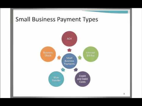 How to Leverage the Small Business Payments Toolkit