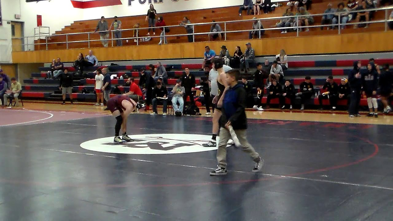 Devin Murphy vs Barry Goldwater (126lbs)