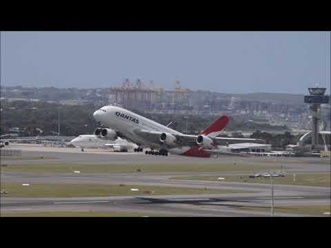 Sydney Plane Spotting With the A350 - 1000
