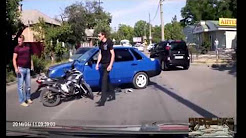 CAR CRASHES -Auto Accident- america Tourist take careful Bad Drivers