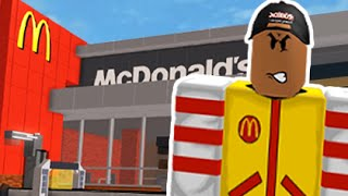 ESCAPE FROM MCDONALDS! | Roblox